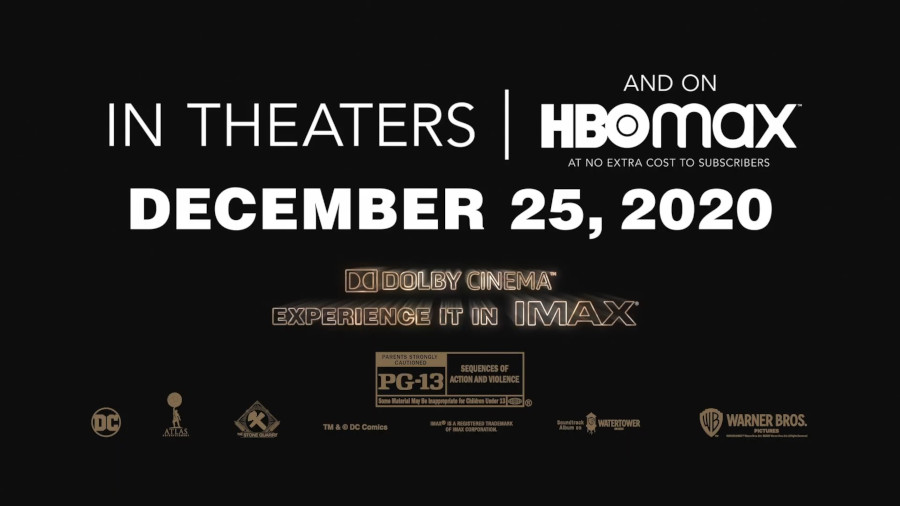 Wonder Woman 1984 Release HBO Max Christmas Theaters