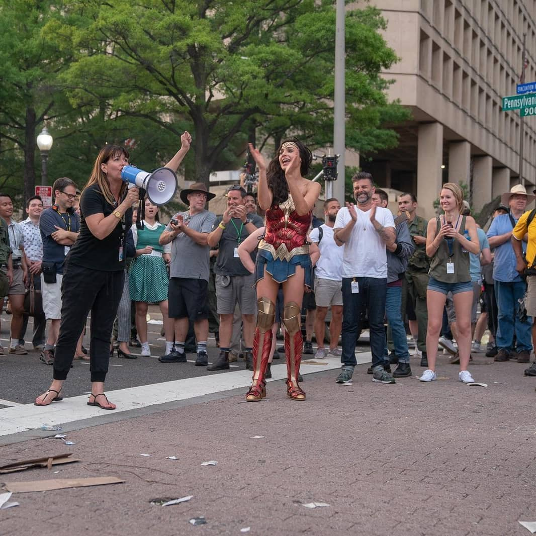 Wonder Woman 1984 Gal Gadot Patty Jenkins
