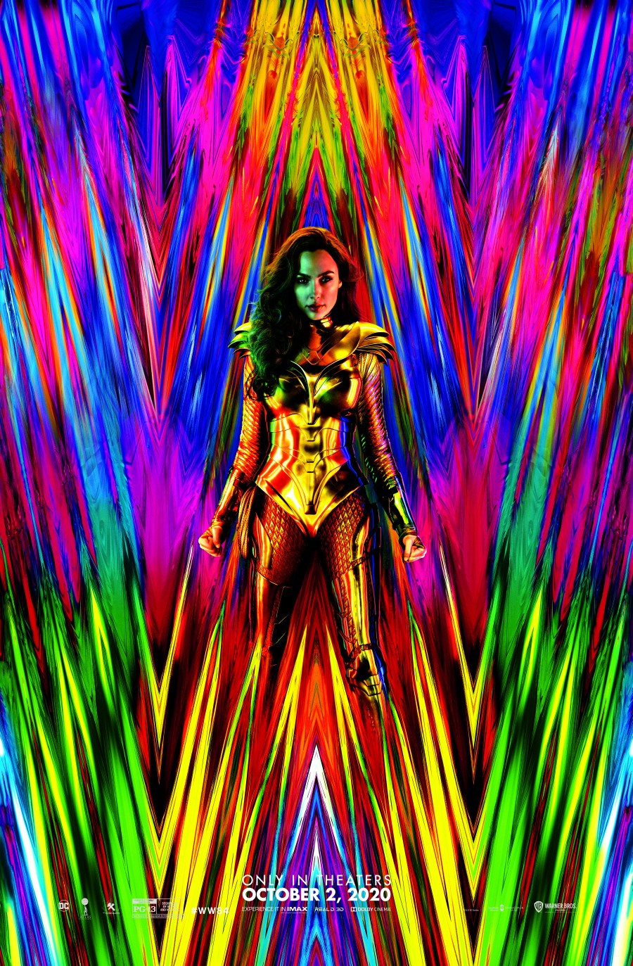 Gal Gadot Wonder Woman 1984 Golden Armor