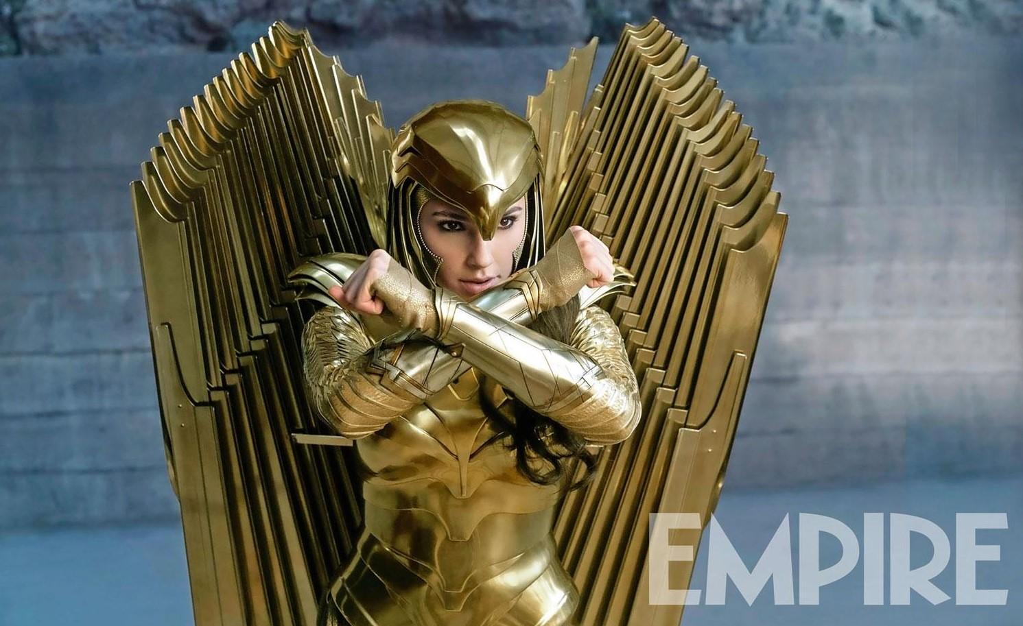 Wonder Woman 1984 Golden Armor Gal Gadot