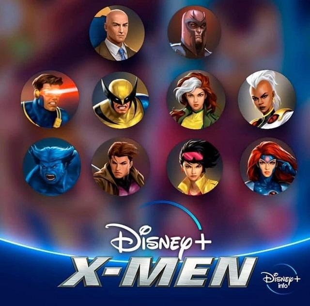 X-Men animated series Disney Plus