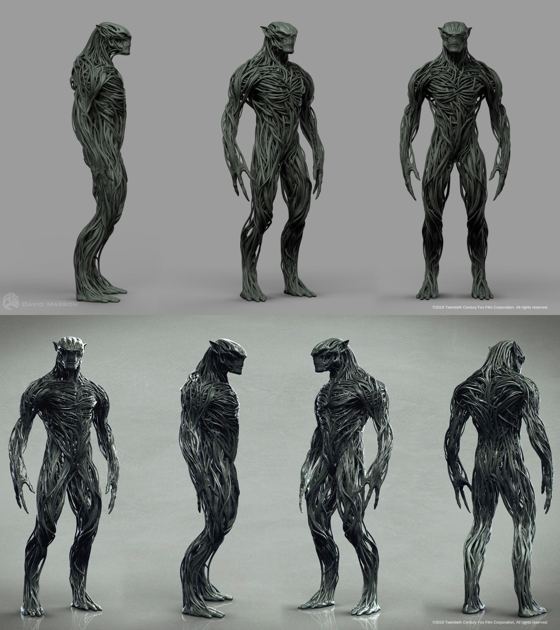 X-Men Dark Phoenix Skrulls concept art