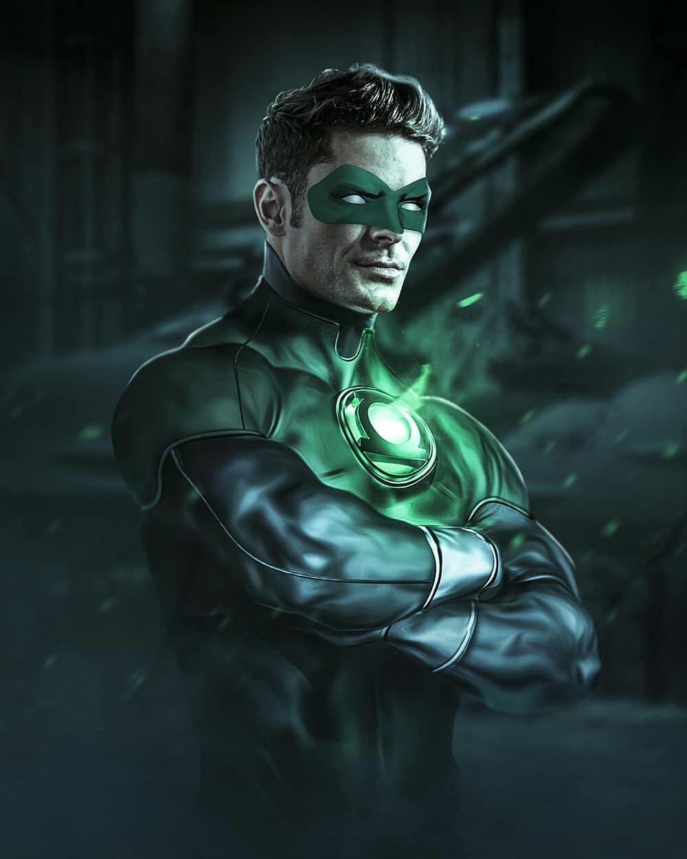 Zac Effron Green Lantern