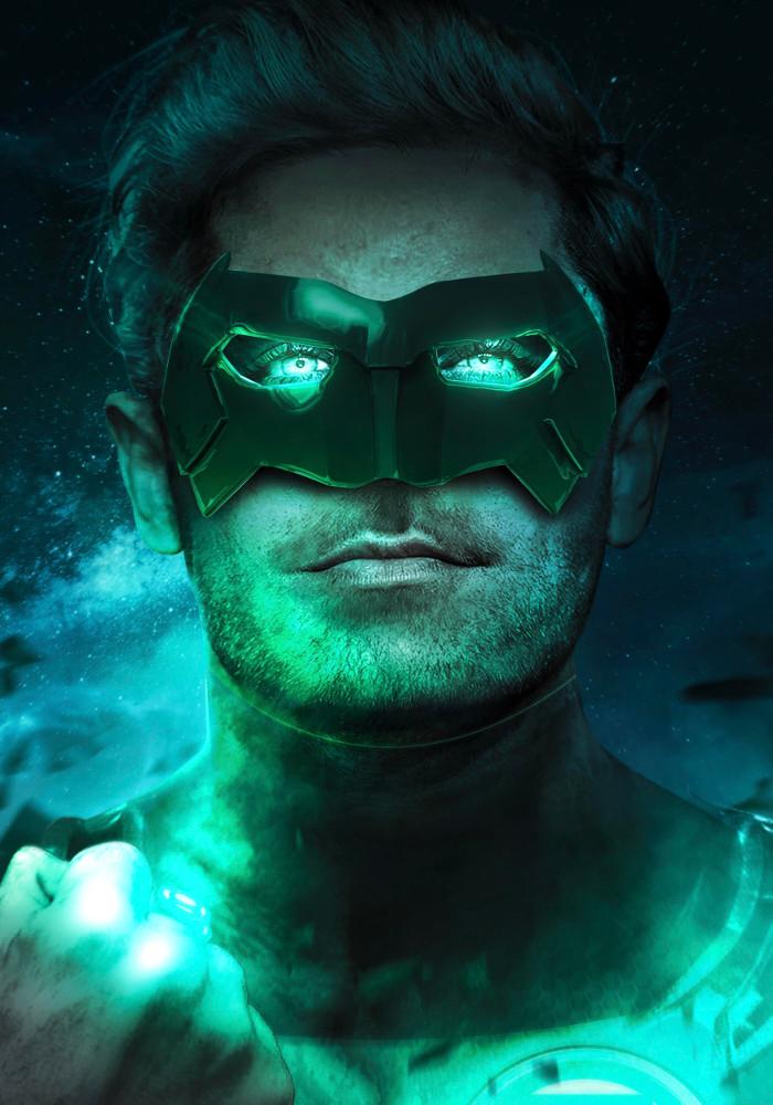 Zac Effron Green Lantern Kyle Rayner