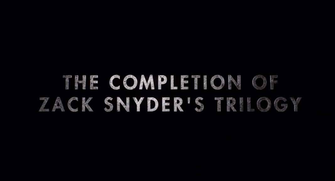 Zack Snyder Justice League completion