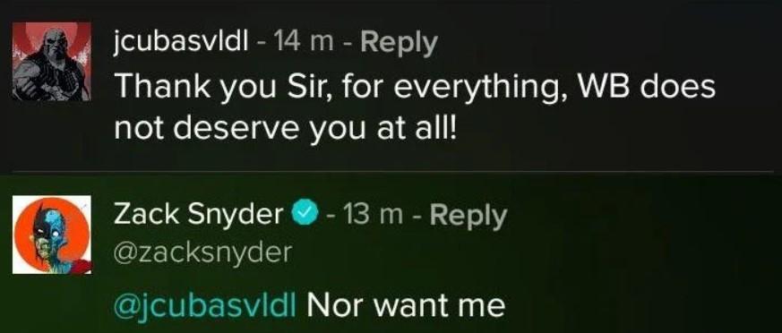 Zack Snyder WB