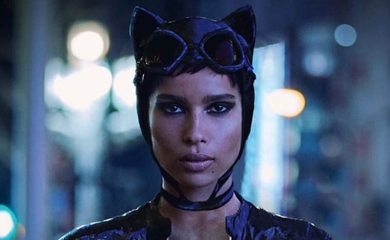 Zoe Kravitz Catwoman Batman fan art