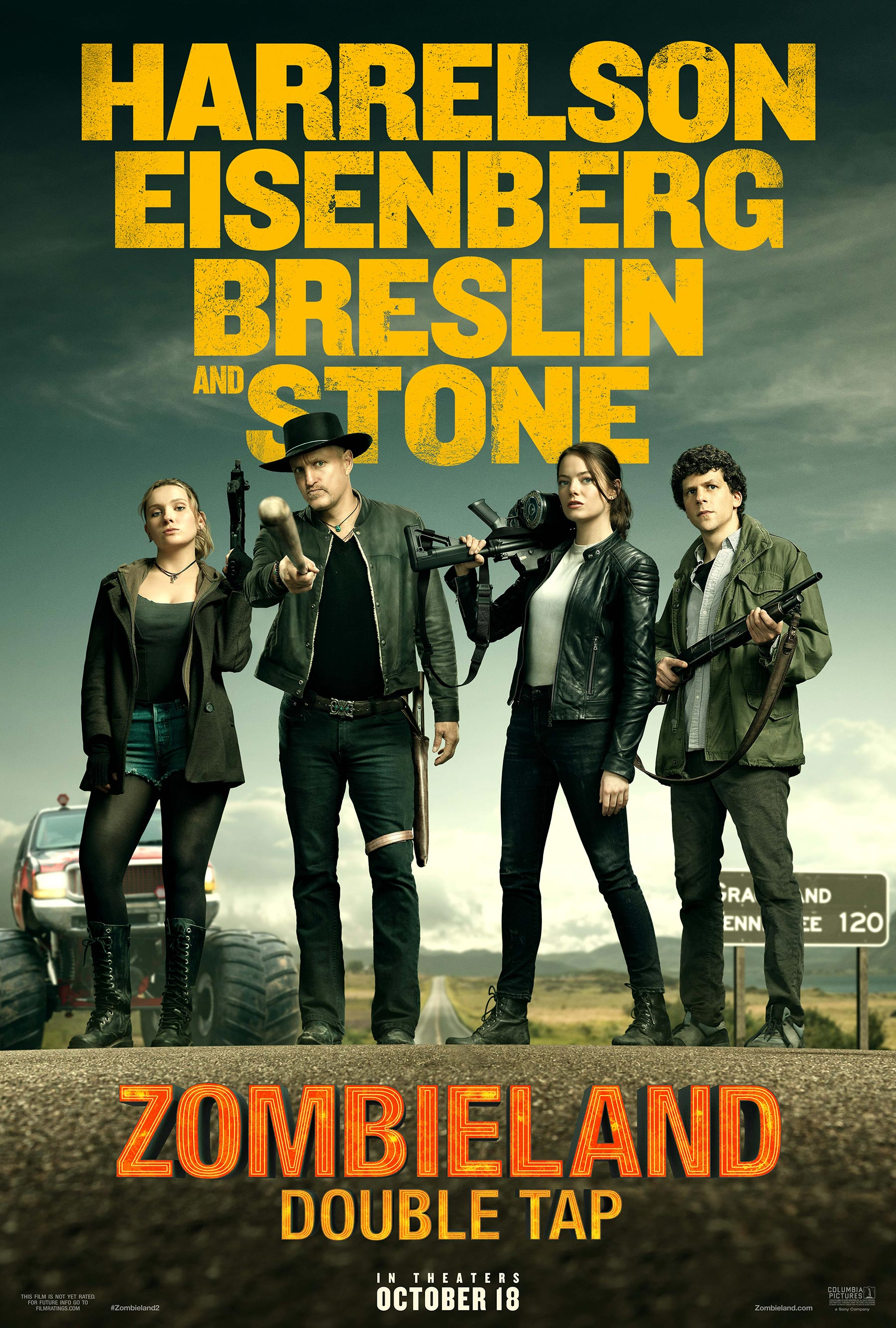 Zombieland 2 Trailer Brings The Double Tap Cosmic Book News