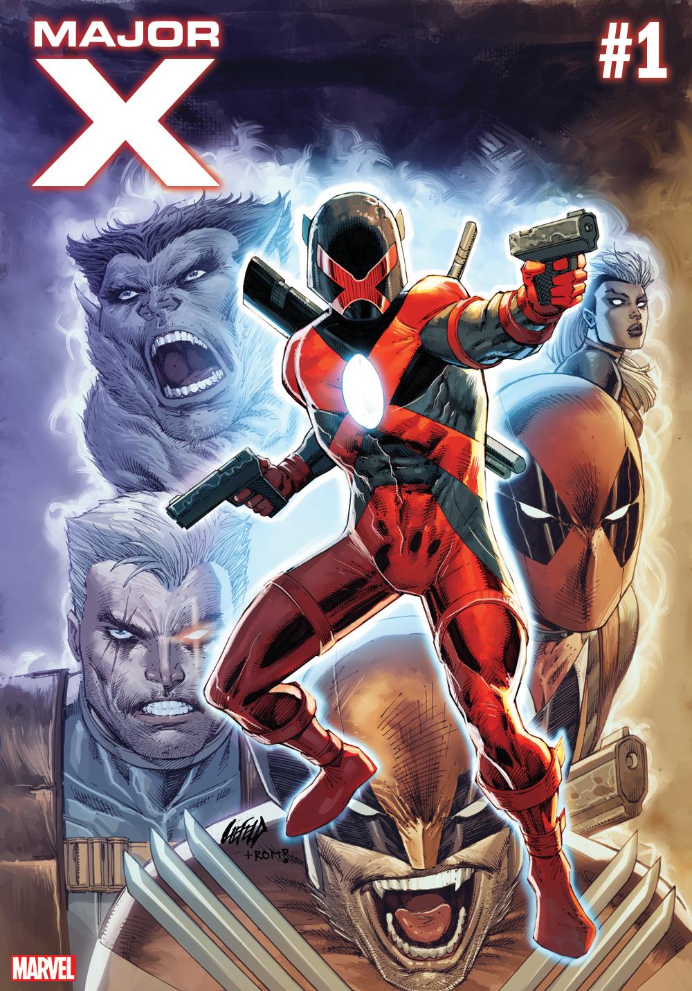 Marvel Comics Major X Rob Liefeld X-Men