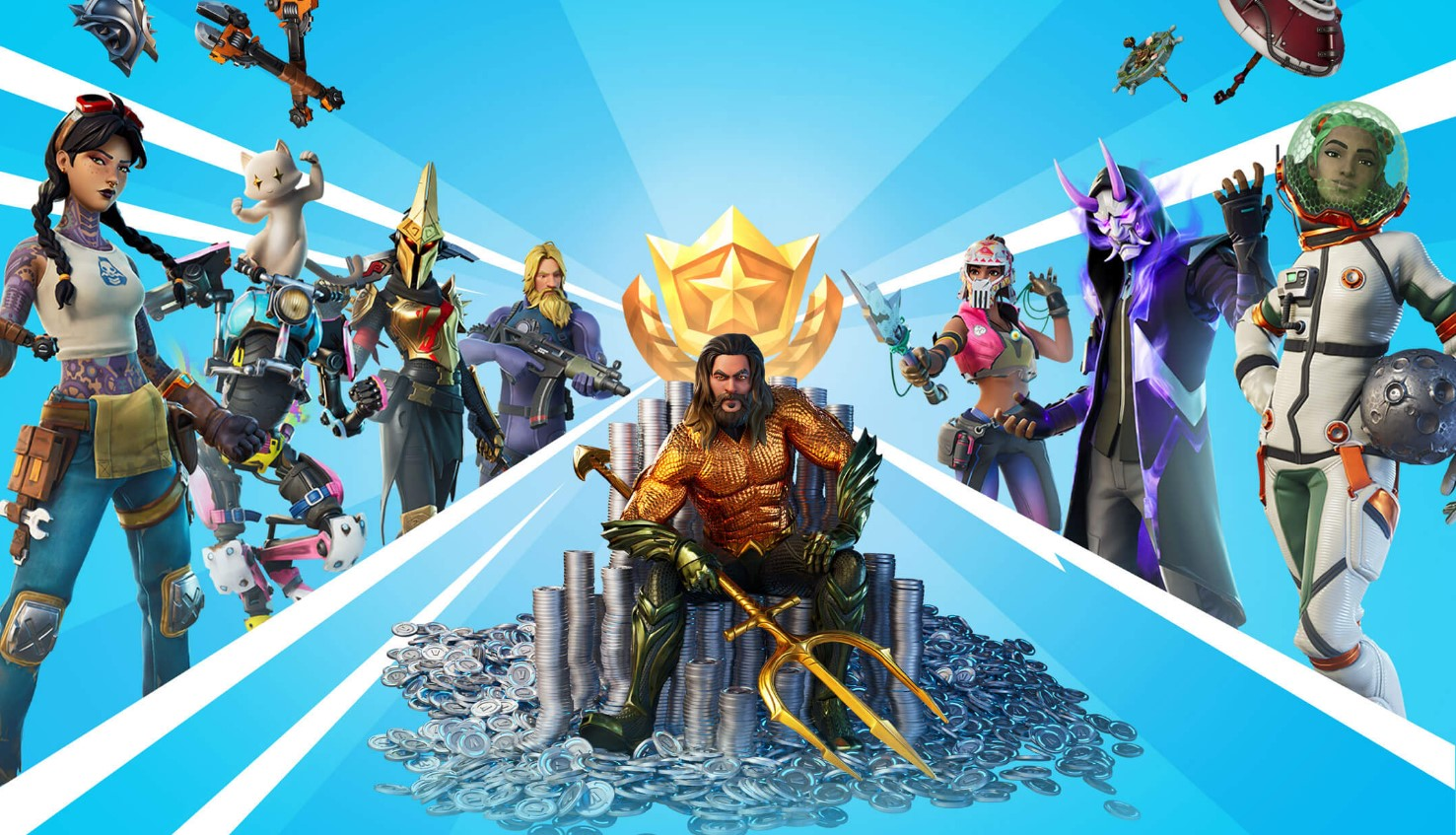 Jason Momoa Aquaman Fortnite