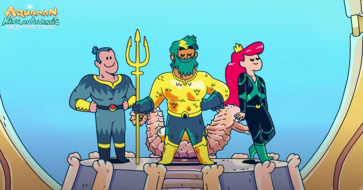 Aquaman King of Atlantis animated series