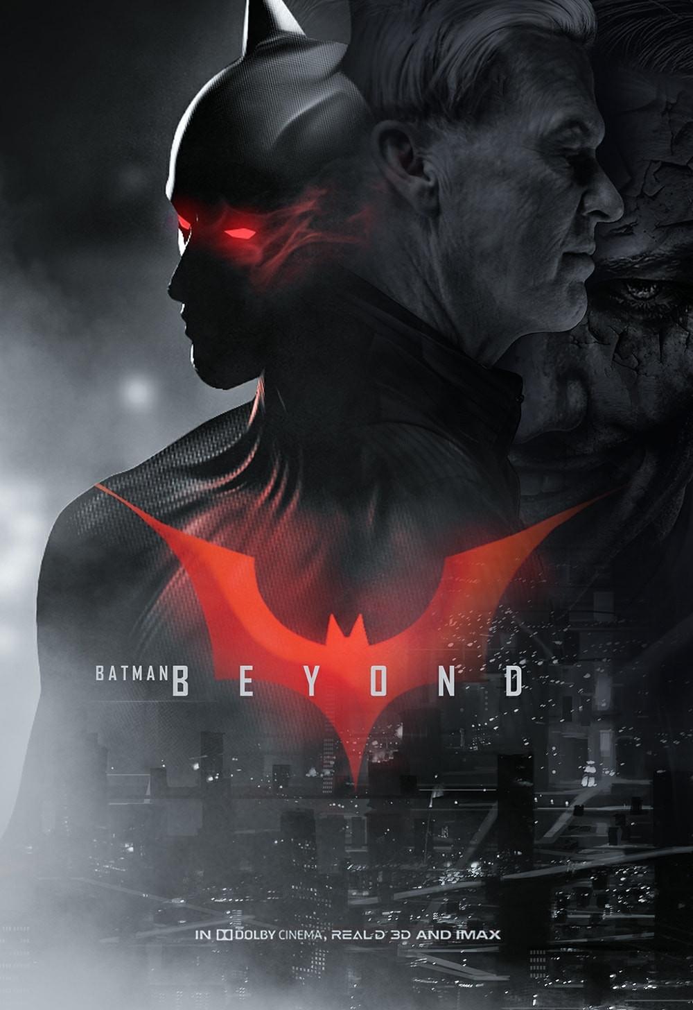 Batman Beyond Michael Keaton fan art
