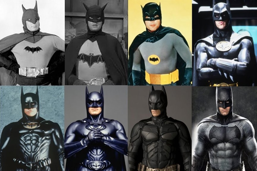 Batman different actors