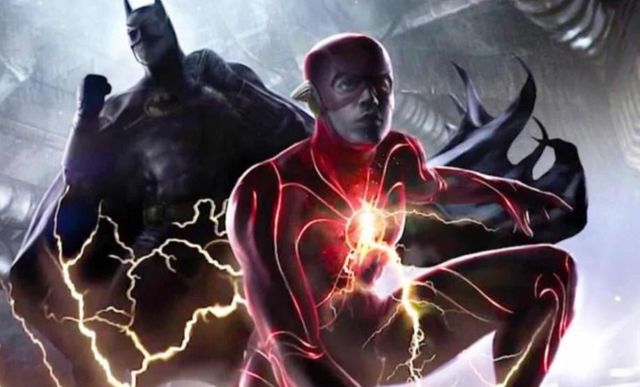 Michael Keaton Batman The Flash concept art