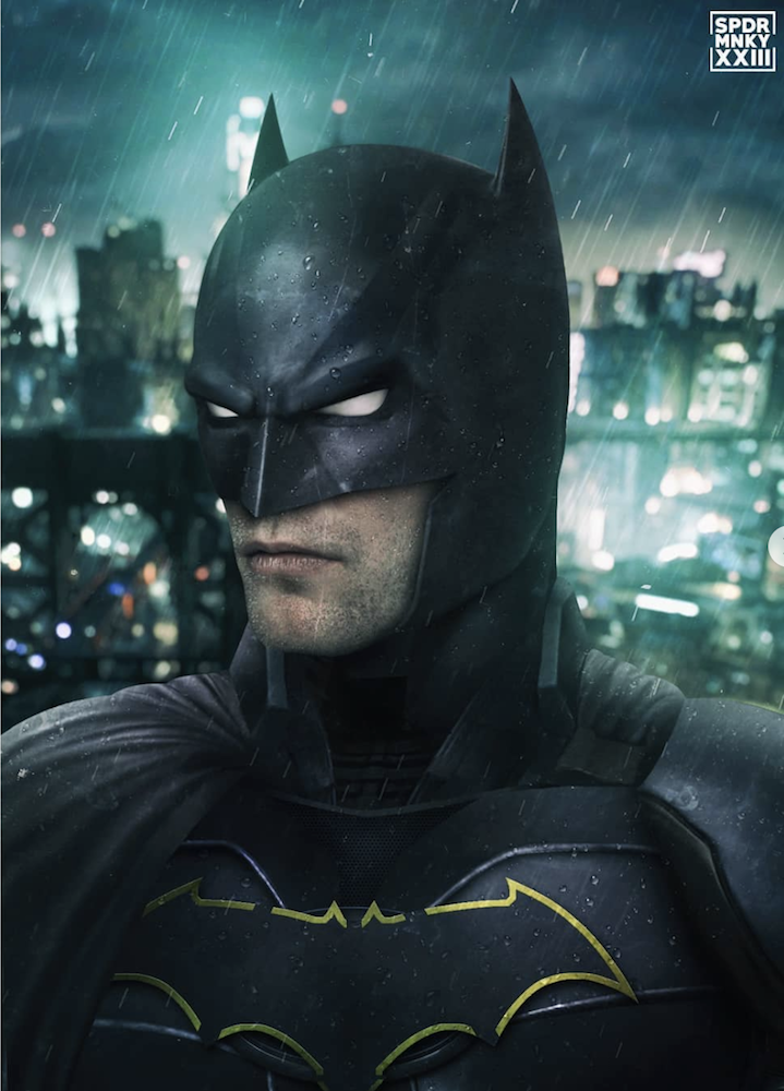 Batman Robert Pattinson fan art