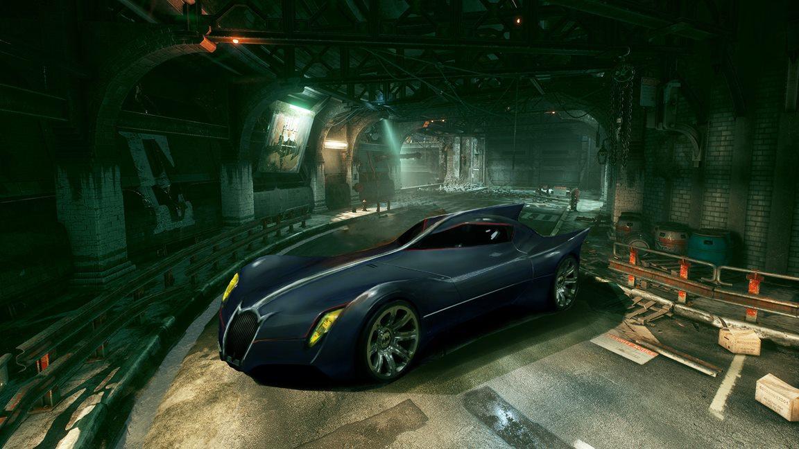 Batmobile Titans