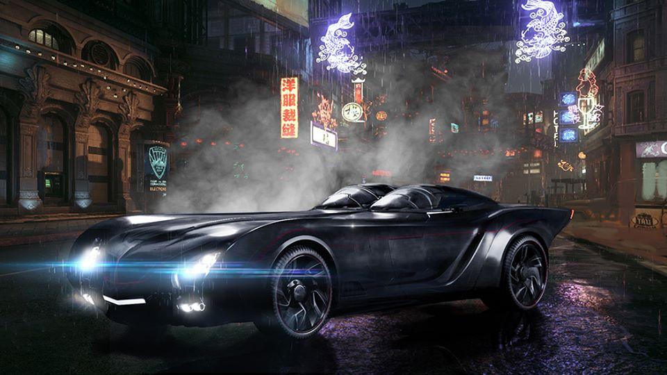 Titans Batmobile