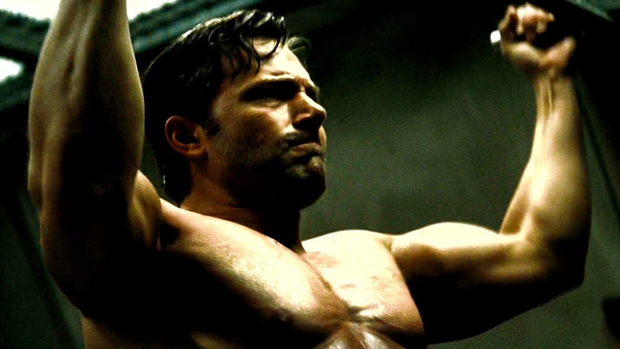 Ben Affleck shirtless Batman vs Superman