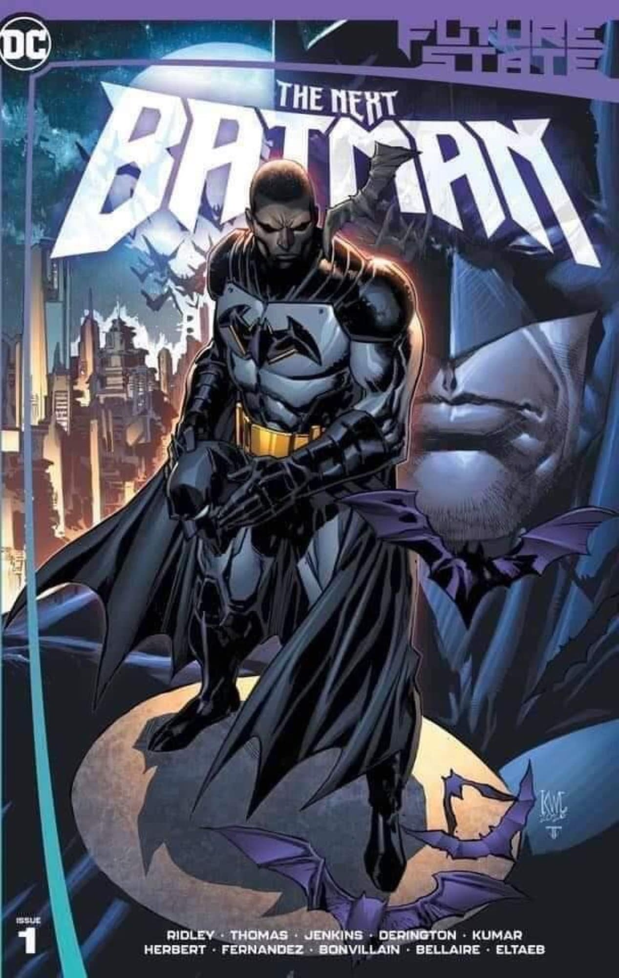 Black Batman DC Comics