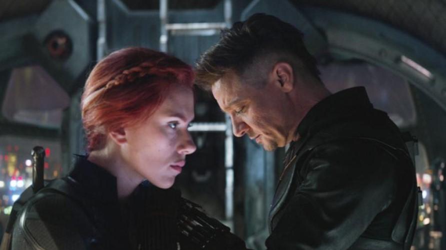 Black Widow Hawkeye endgame