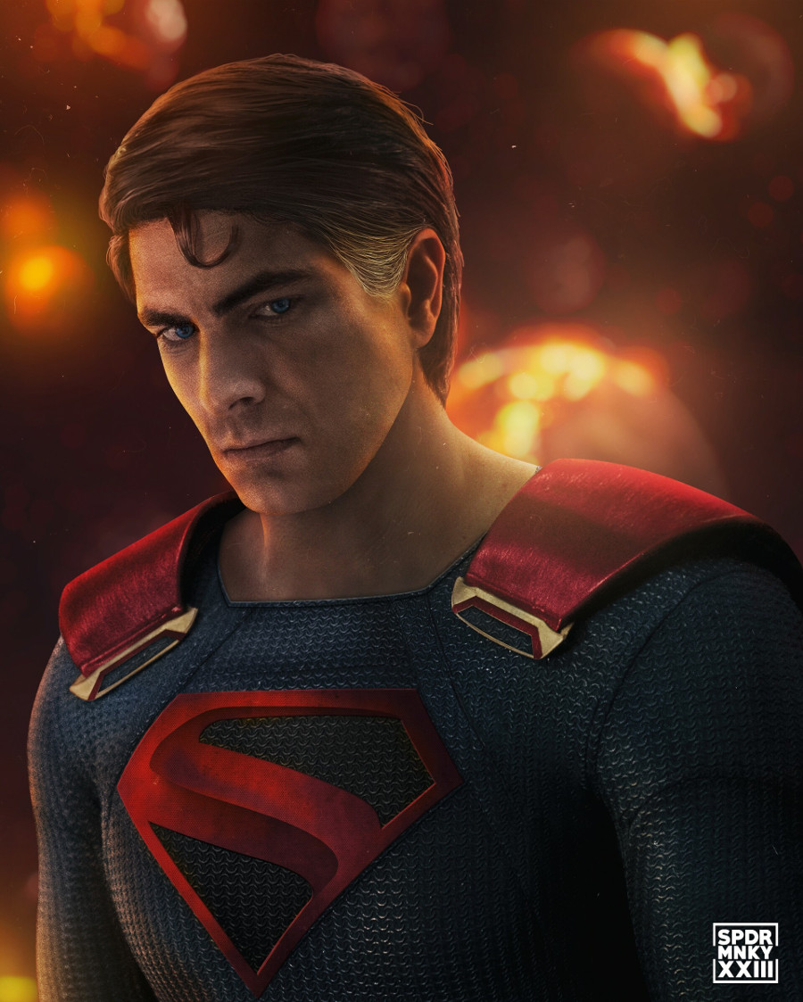 Brandon Routh Kingdom Come Superman fan art