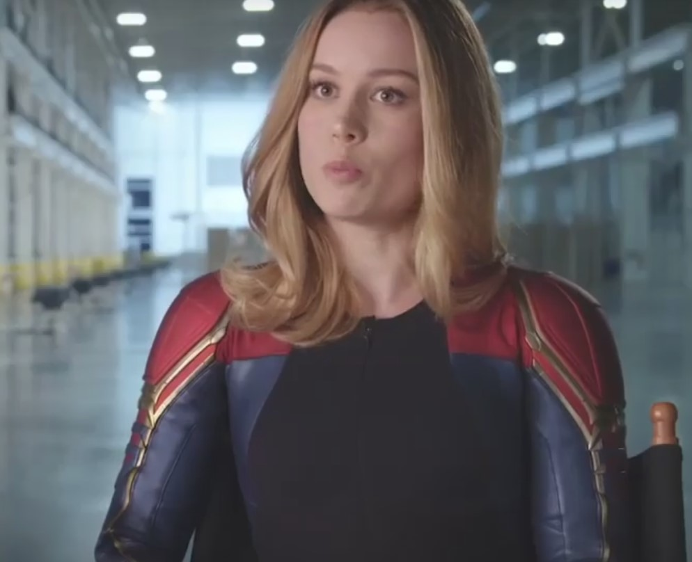 first look at brie larson in avengers: endgame as captain