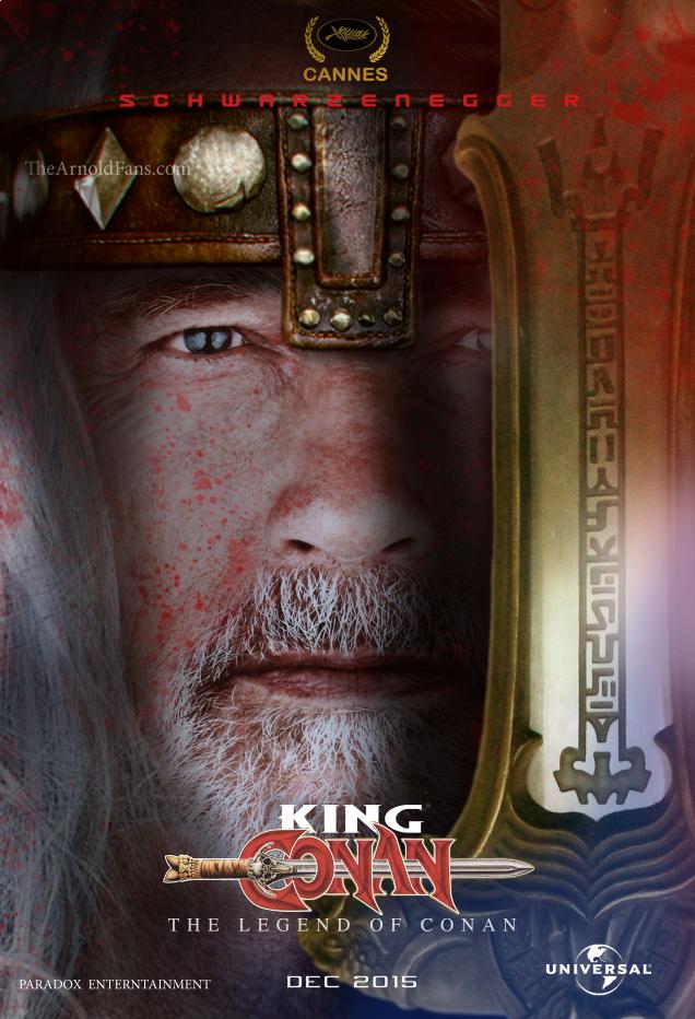 King Conan Arnold Schwarzenegger