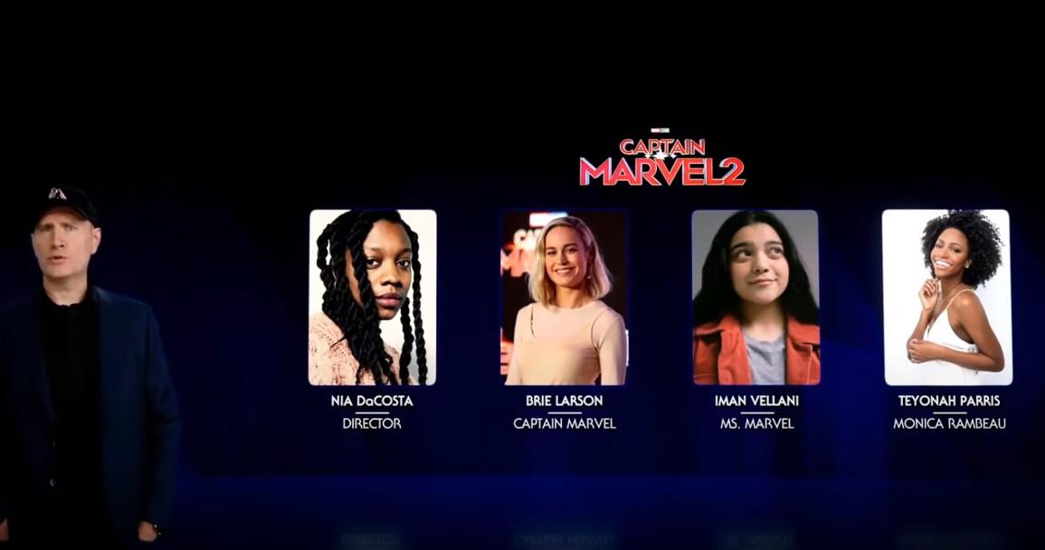 Captain Marvel 2 Kevin Feige