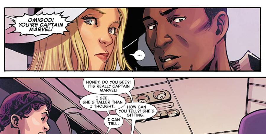 Captain Marvel comic book