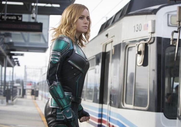 Captain Marvel Friday Box Office