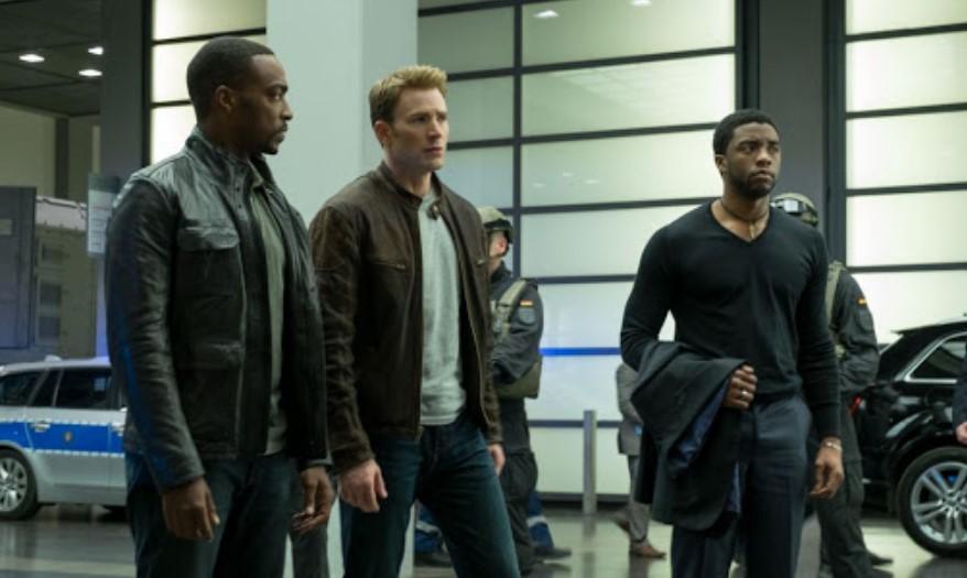 Chadwick Boseman Captain America Civil War