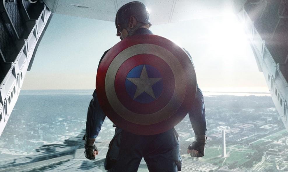 Chris Evans Captain America shield