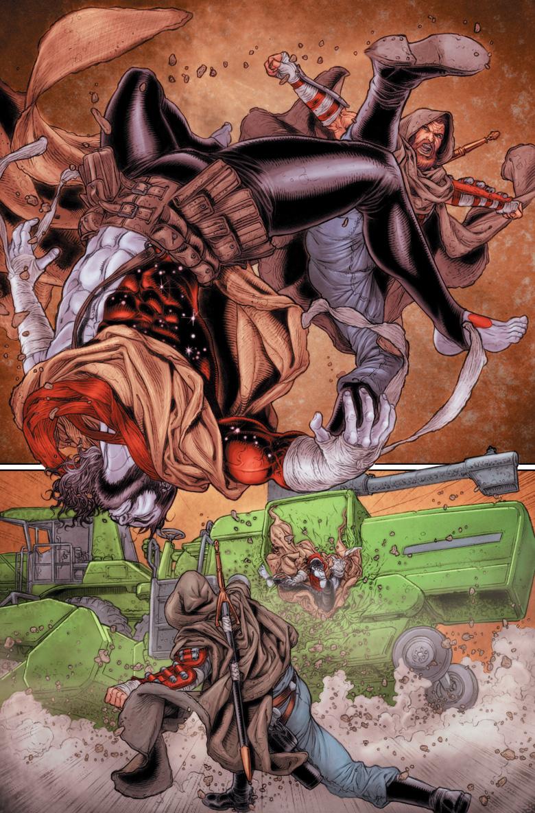 Dan Abnett Rai Valiant Comics