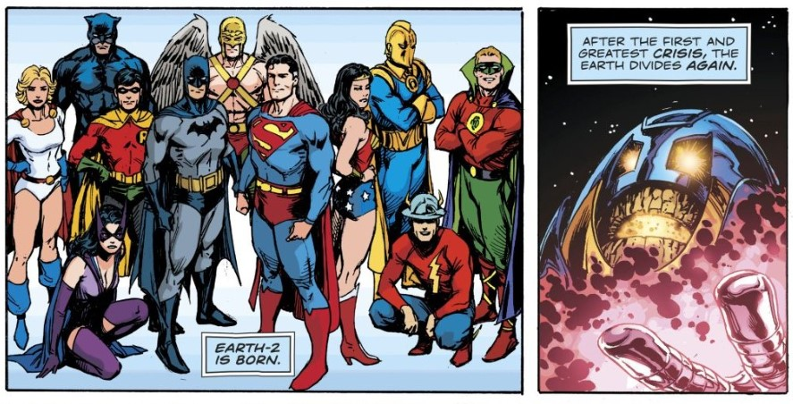 Dc Comics Teases Marvel Crossover Crisis Event More Cosmic