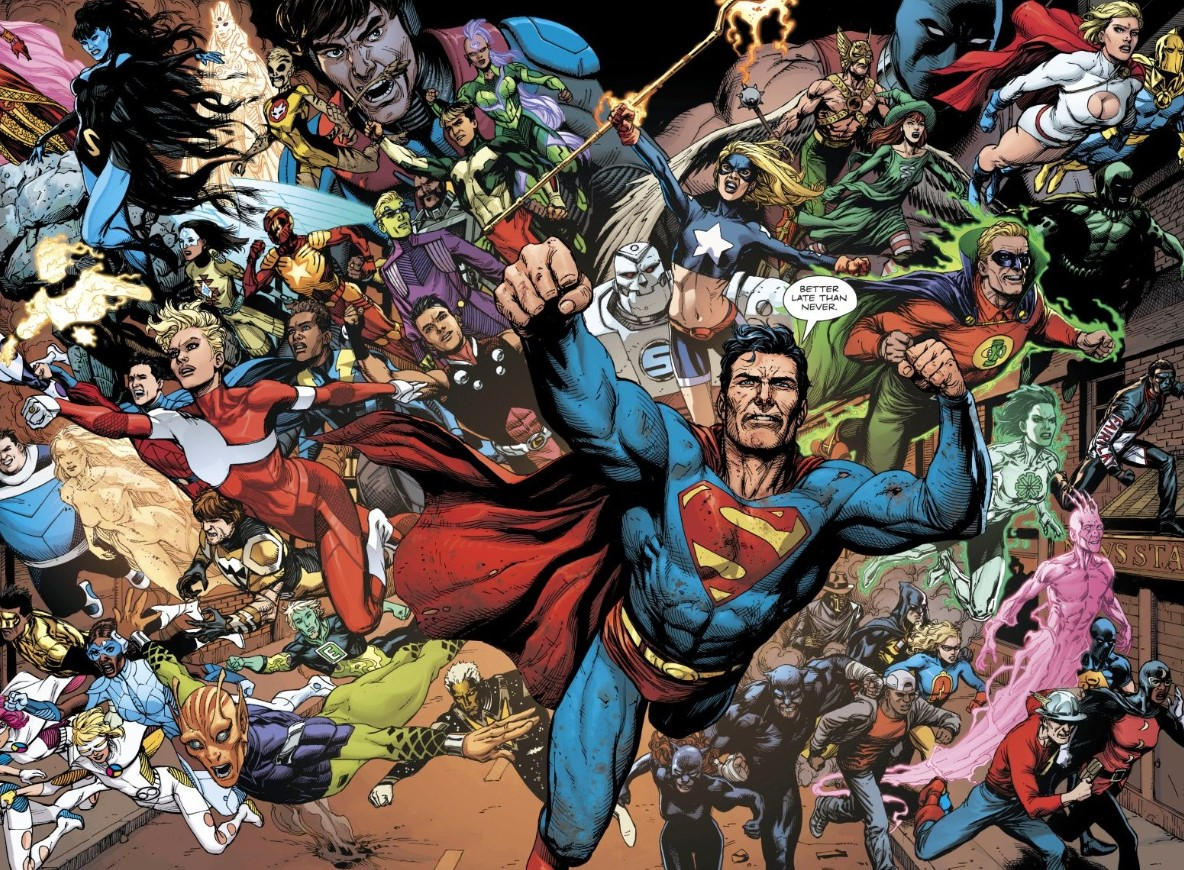Doomsday Clock 12 Superman