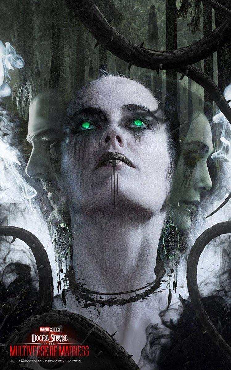 Eva Green Nightmare Doctor Strange 2 fan art