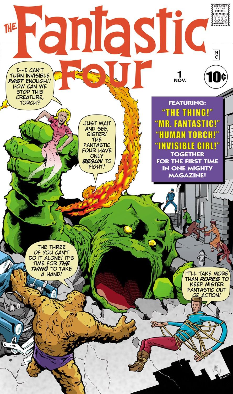 Fantastic Four 1 1961 Marvel