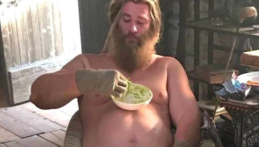 Chris Hemsworth Fat Thor