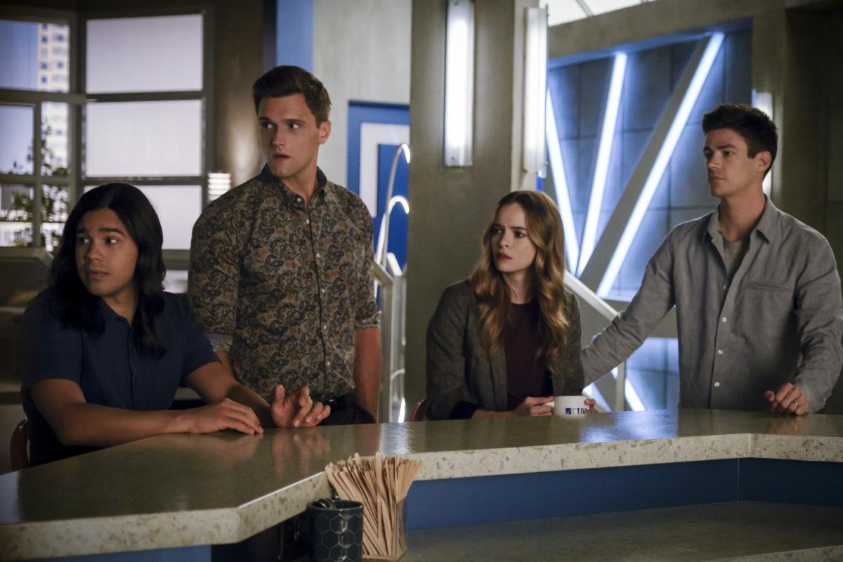 The Flash Season 6 Into The Void