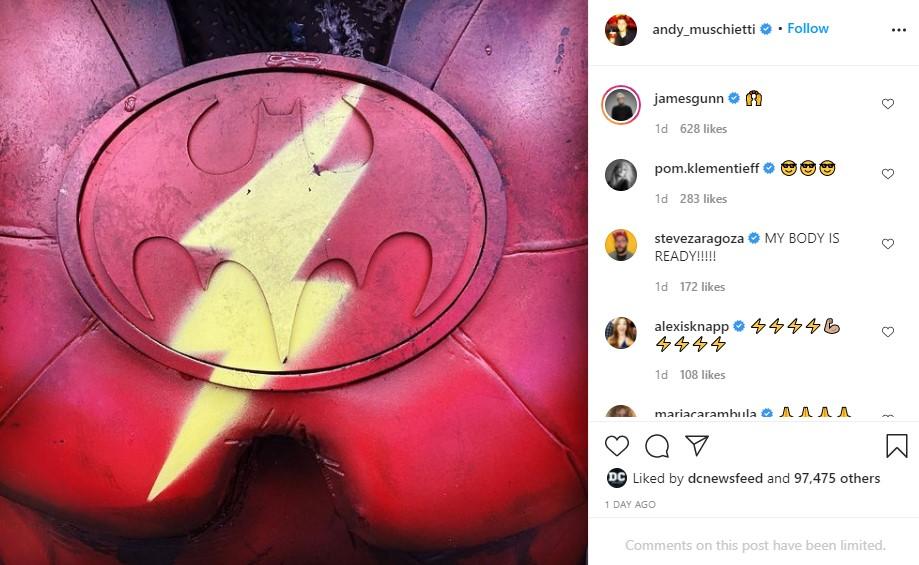 The Flash Red Death Batman