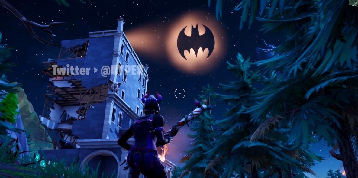 Batman Fortnite Gotham City