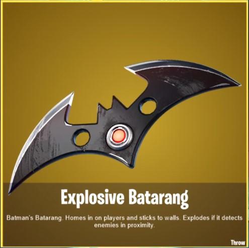 Batman Fortnite Gotham City Batarang