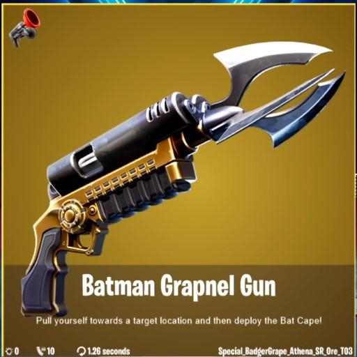 Batman Fortnite Gotham City Grapnel Gun