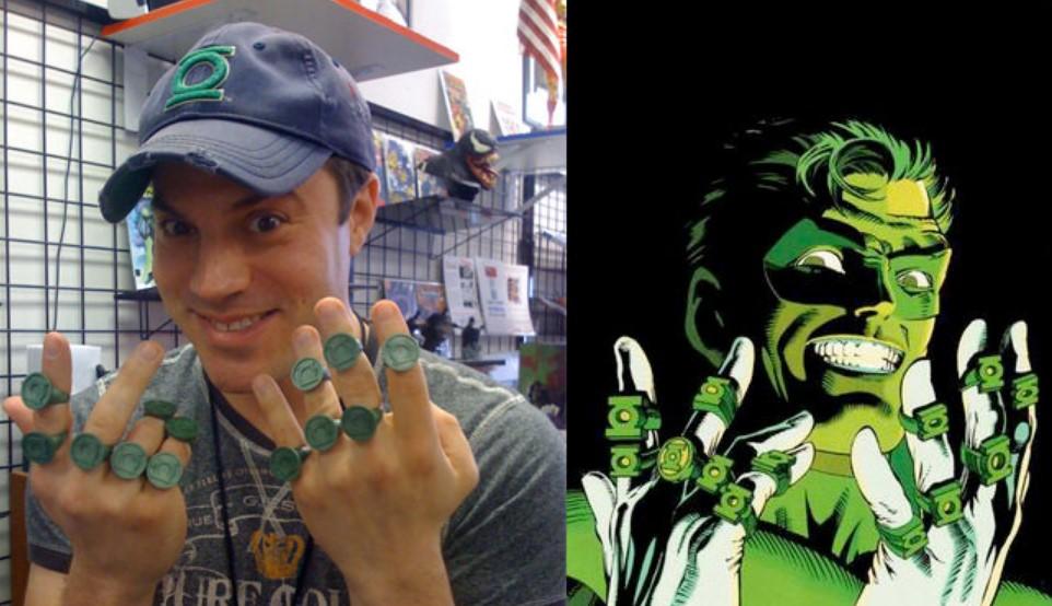 Green Lantern Corps Geoff Johns