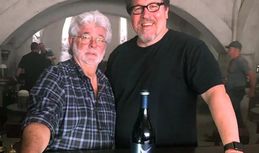 George Lucas Jon Favreau The Mandalorian