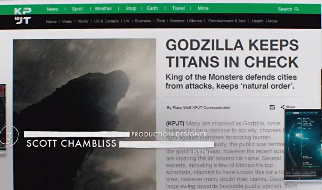 Godzilla vs Kong Titans Check