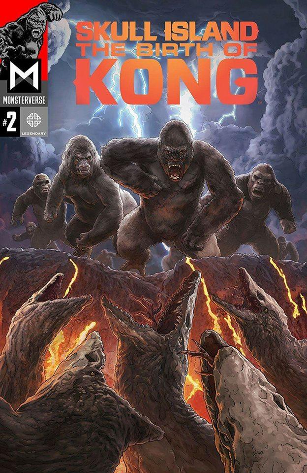 Godzilla MonsterVerse Kong