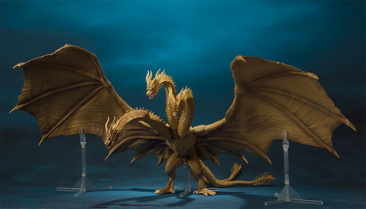 Godzilla 2019 S H Monsterarts Figure Images Cosmic Book News