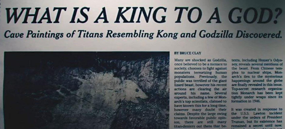 Godzilla vs Kong paintings