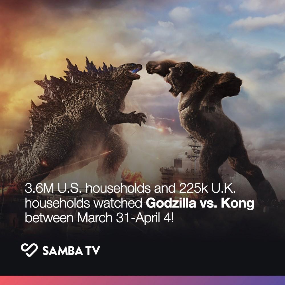 Godzilla vs Kong Samba TV